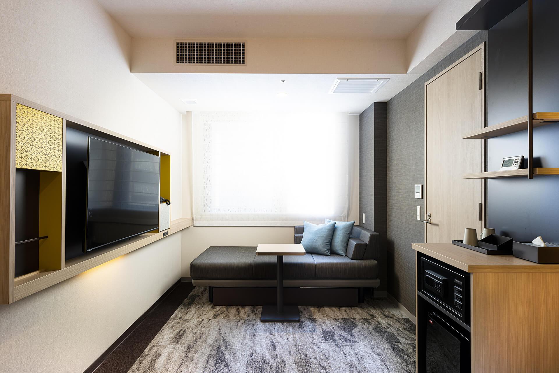 デラックスツイン|客室のご案内|KOKO HOTEL 築地銀座