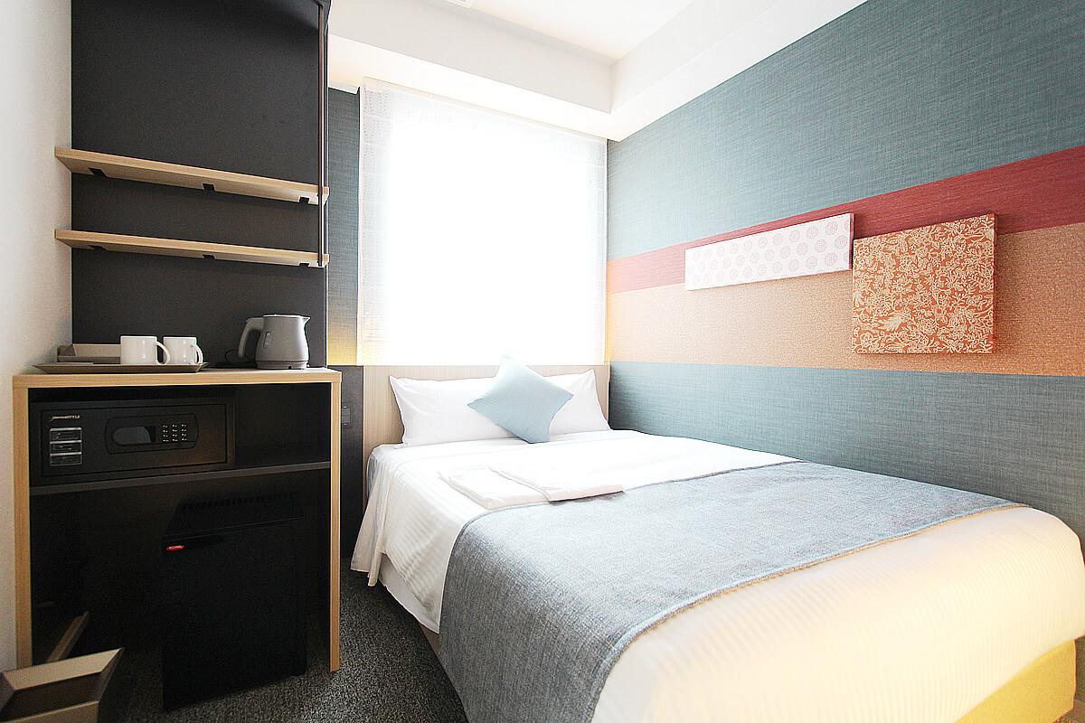 スタンダードダブル|客室のご案内|KOKO HOTEL 築地銀座